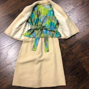 Vintage 1960 Rockabilly Jablow Original Skirt Suit